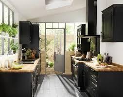 relooker cuisine bois cool idée relooking cuisine la cuisine bois et noir c est le