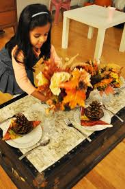 Setting The Table by Setting The Kids Table For Thanksgiving Pop By Yaz