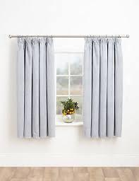 Black Ticking Curtains Ticking Stripe Blackout Curtains M U0026s