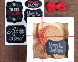 christmas cookie box etsy