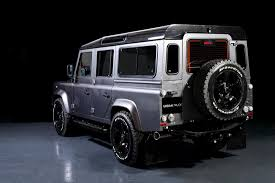 vintage land rover defender 110 land rover defender gets tricked out by urban truck autoevolution
