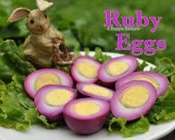 boiling eggs for easter dying boiled ruby eggs easter recipe a veggie venture