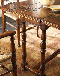 492704 jonathan charles country farmhouse small walnut hunt table