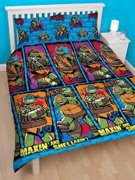 Teenage Mutant Ninja Turtles Twin Bed Set by Teenage Mutant Ninja Turtles Urban Double Duvet Cover Set Ninja