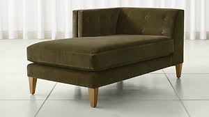 Leather Chaise Lounge Sofa Chaise Lounge Sofas And Chairs Crate And Barrel