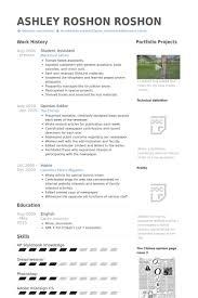Cs Resume Student Assistant Resume Samples Visualcv Resume Samples Database