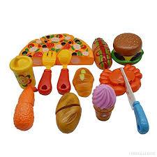 jeux de cuisine pour bébé 12pcs gâteau pizza à découper jeu d imitation de cuisine jouet