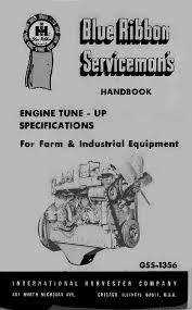 ih farmall cub engine tune up spec service manual gss 1356 coil
