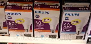 best buy light bulbs best buy phillips led 60w 4pk light bulbs 3 99 today only