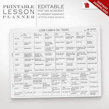 common core lesson plans printable plan template preschool forms