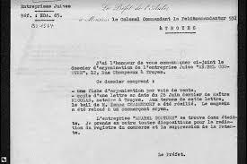 bureau registre des entreprises archives de l occupation allemande dossiers du bureau de liaison