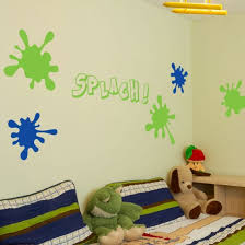 stickers chambre d enfant stickers muraux splash décoration tache de peinture chambre d