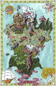 Fantasy Map Maker Artist Deven Rue Puts Critical Role On The Map Geek And Sundry