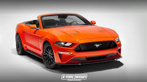 nissan convertible 2018 uncovering the 2018 ford mustang convertible on photoshop