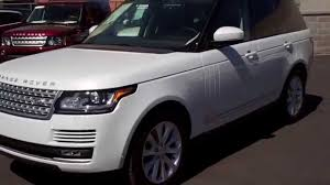 land rover hse white 2015 land rover range rover yulong white youtube