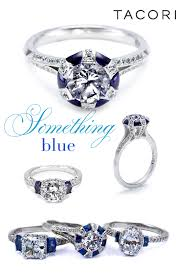 Blue Wedding Rings by Tacori Engagement Rings Can Be Your Something Blue Munaluchi Bride