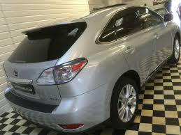 lexus rx 450h used uk used lexus rx 450h 3 5 se l premier 5dr cvt auto for sale in