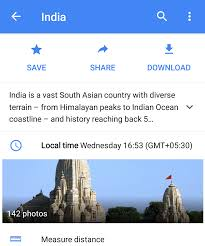 Google Maps Measure Distance Google Maps Offline Mode Is Now Available In India Venturebeat