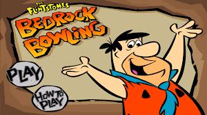 flintstones bedrock bowling