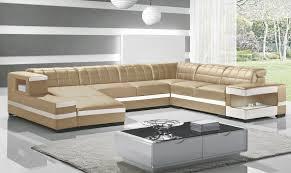 canap panoramique 7 places enzo canapé d angle cuir design