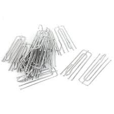 Curtain Hooks Pinch Pleat Unique Bargains Window Treatment Metal 4 Prongs Pinch Pleat Drapes