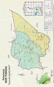 imagenes de sud yungas provincia nor yungas mapa departamento de la paz historia
