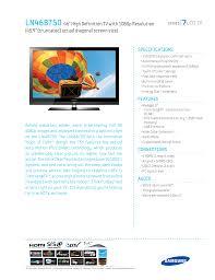 download free pdf for samsung ln46b750 tv manual