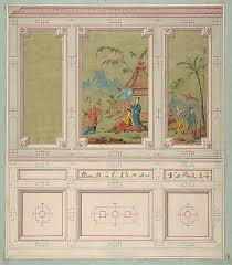 designs for wall panels by jules edmond charles lachaise at the