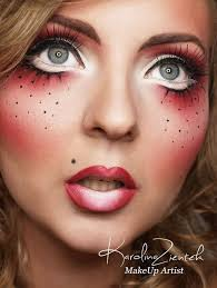 China Doll Halloween Costume 20 Scary Doll Makeup Ideas U2014no Signup Required