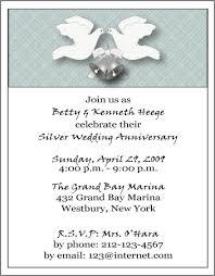 25th wedding anniversary invitations 25th wedding anniversary invitations orionjurinform