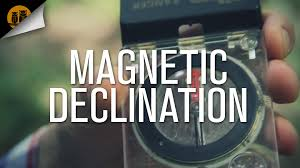Magnetic Declination Map How To Use A Compass U2022 Magnetic Declination Youtube