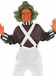 Oompa Loompa Halloween Costumes Adults Child Oompa Loompa Factory Worker Costume Fs2984 Fancy Dress Ball