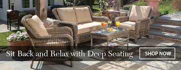 Alfresco Home Outdoor Furniture by Alfresco Home Cotswold Deep Seating Vineyard Sit Back Relax A