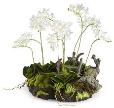 artificial plants artificial mini dendrobium rustic drop in plant modern