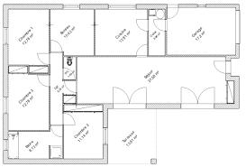 plan de maison 5 chambres plain pied plan maison 5 chambres free plan de maison chambres plain pied