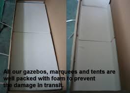 Steel Pop Up Gazebo Waterproof by Foxhunter Heavy Duty 100 Waterproof 2 5 X 2 5m Pop Up Gazebo