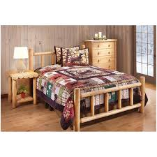 Rustic Bedroom Furniture Sets King Bedroom Bed With Railing Footboard Images About The Bedroom On