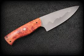 high end kitchen knives 5 chef knife amboyna burl bladeforums