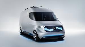 car mercedes 2017 ces 2017 mercedes built a van with autonomous drones and robot