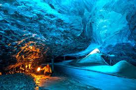 Brr Illiant Pictures Reveal Secret Crystal Landscape In A Glacier
