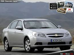 2006 chevrolet epica photos and wallpapers trueautosite