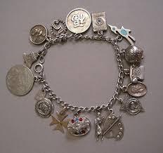 sterling bracelet charms images Vintage charm bracelet sales page jpg