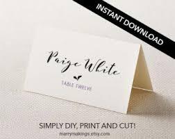 Wedding Decor Business Cards Wedding Place Card Holders 100 Animal Magnets Custom Set