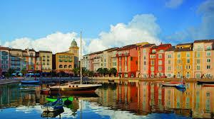 Citywalk Orlando Map Orlando Luxury Resorts Loews Portofino Bay At Universal Studios