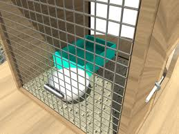 Homemade Rabbit Cage How To Make A Rabbit Cage 10 Steps With Pictures Wikihow