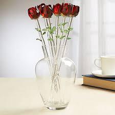 glass roses home essentials bouquet glass roses boscov s