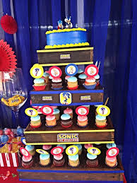 sonic the hedgehog party supplies 70 best soinc birthday images on sonic birthday cake