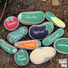 Painting Rocks For Garden River Rock Garden Markers