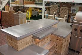 concrete top bar table diy concrete bar tops diy cbellandkellarteam
