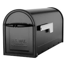 shop architectural mailboxes cambridge 6 8 in x 8 9 in metal black